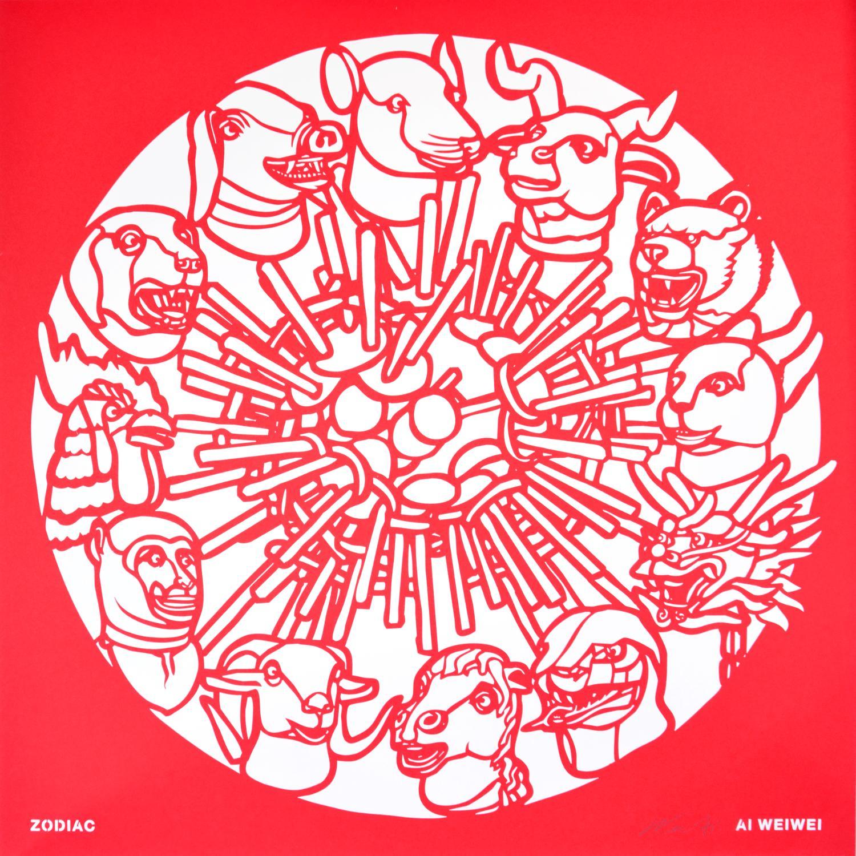 Ai Weiwei, Zodiac, from the Papercut Portfolio, 2019