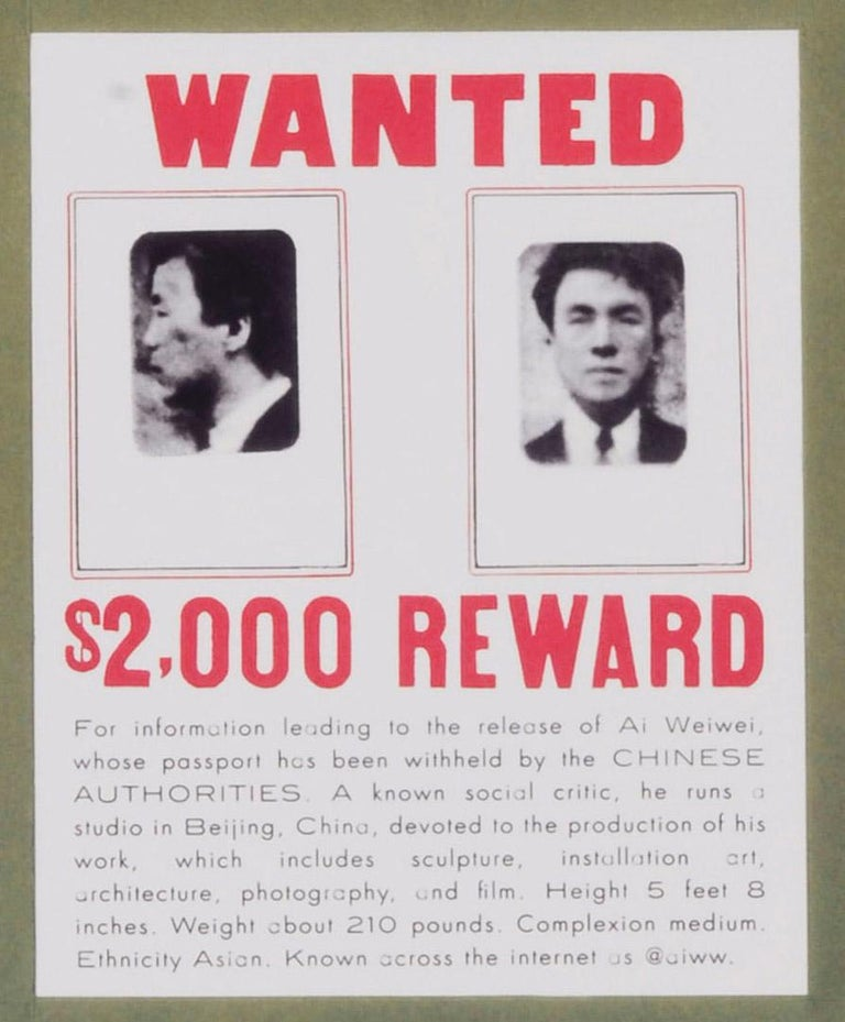 WANTED - Print by Ai Weiwei