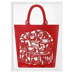 Ai Weiwei, The China Bag 'Cats and Dogs'