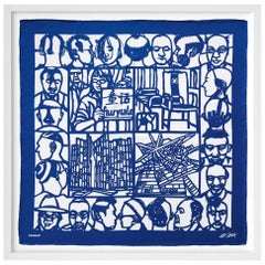 Ai Weiwei, The Silk Scarf 'Haircut'