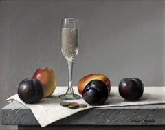Fruits and Glass