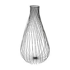 Aida Iron Vase by Antonino Sciortino