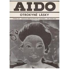 """Aido: Slave of Love"" 1971 Czech A3 Film Poster"