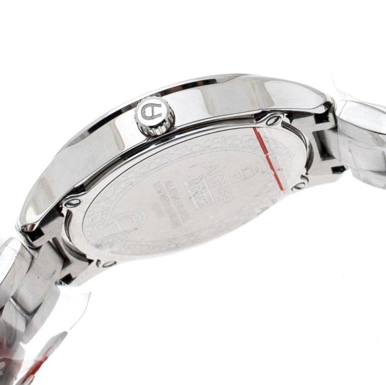 Aigner Black Stainless Steel Modica A32600 Women's Wristwatch 30 mm In New Condition In Dubai, Al Qouz 2