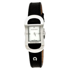Aigner Mother of Pearl Stainless Steel Cesena A53200 Women's Wristwatch 23 mm