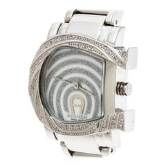 Aigner Mother of Pearl Stainless Steel Genua Due A31600 Women's Wristwatch 31 mm