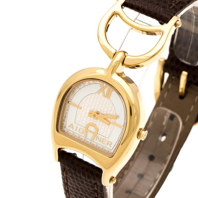 Aigner Mother of  Stainless Steel Arte A32200 Women's Wristwatch 26 mm 1