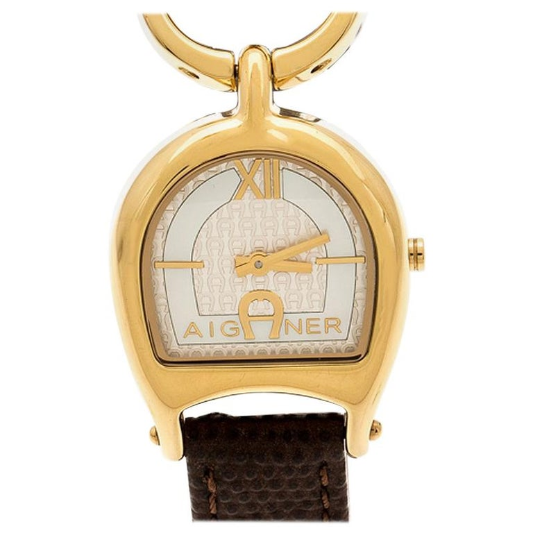 Aigner Mother of  Stainless Steel Arte A32200 Women's Wristwatch 26 mm