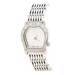 Aigner Silver Stainless Steel Ravenna Nuovo A25200 Women's Wristwatch 24 mm