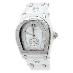 Aigner Silver Stainless Steel Rubber Alba A49200 Women's Wristwatch 36 mm