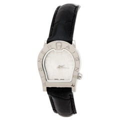 Aigner Silver Stainless Steel Verona Nuovo A22200 Women's Wristwatch 24 mm