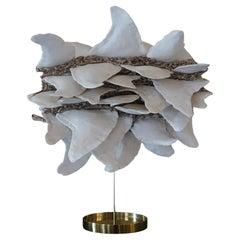 """""""Aileronces"""" Ceramic Abstract Sculpture by Bénédicte Vallet, France 2019"""