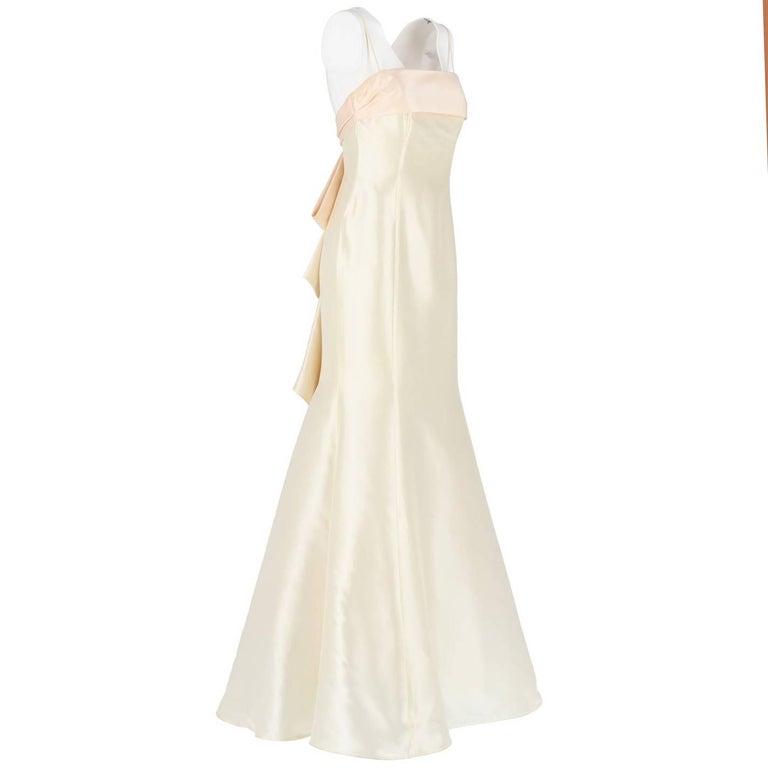 Aimée Ivory White Vintage Wedding Dress, 2000s For Sale at 1stdibs