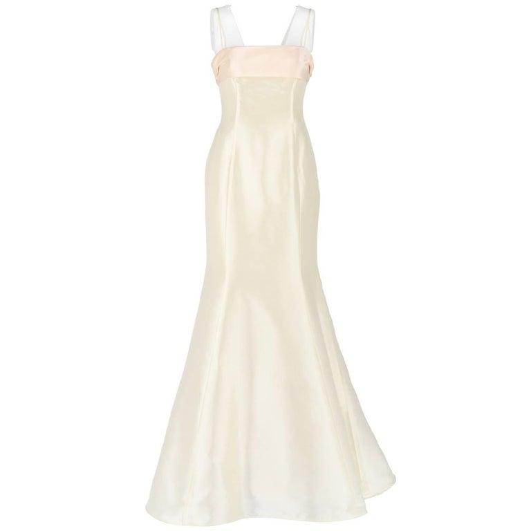 Aimée Ivory White Vintage Wedding Dress, 2000s