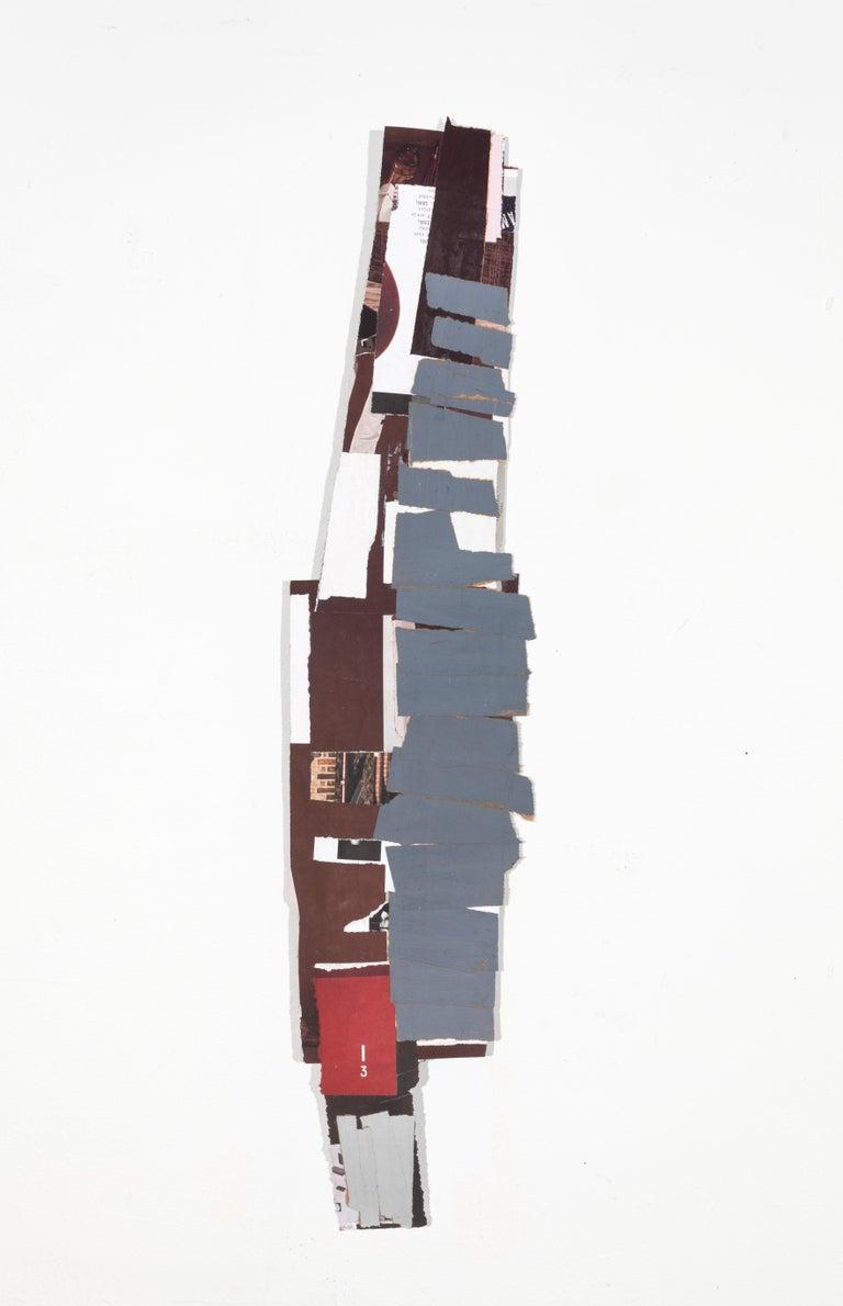Aimée Farnet Siegel Abstract Painting - Grey plays fairly
