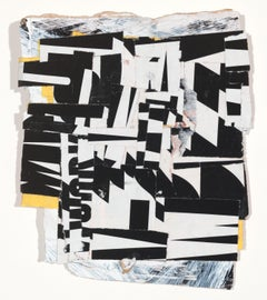 """Influencer"" - Non-Objective Paper Collage - Diebenkorn"