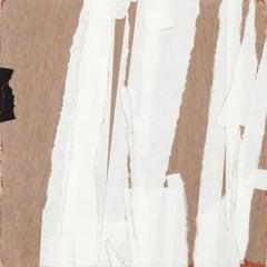 """""""No Pretense"""" - Non-Objective Colorful Paper Collage - Diebenkorn"""