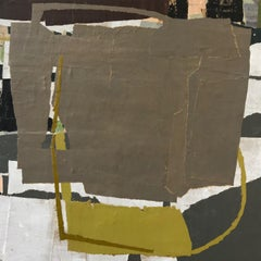 """""""When Encroachment Was A Thing"""" - Non-Objective Paper Collage - Diebenkorn"""