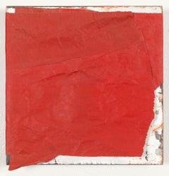 """Wrap III"" - Non-Objective Paper Collage - Diebenkorn"
