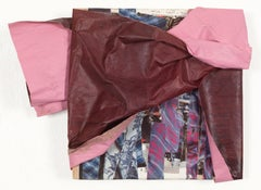 """Wrap V"" - Non-Objective Sculptural Paper Collage - Diebenkorn"