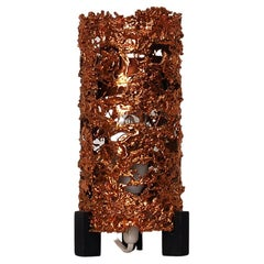 Aimo Tukiainen Copper Table Lamp by  Finland, 1960s