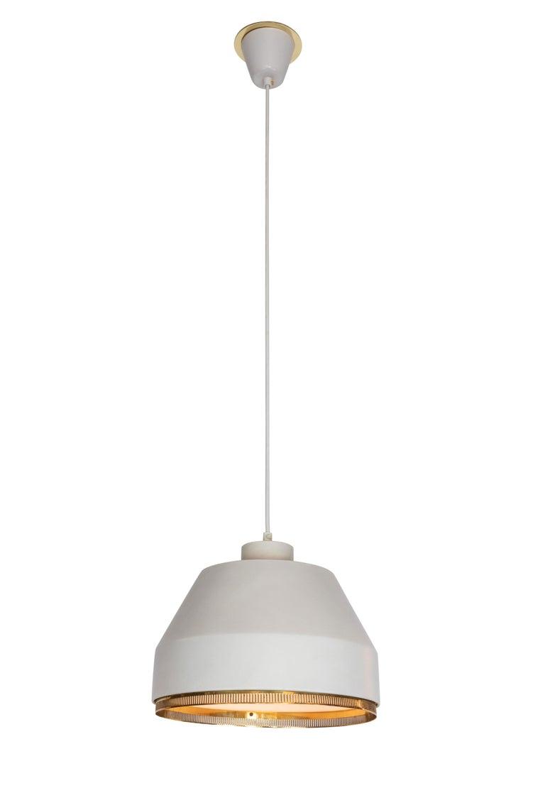 Scandinavian Modern Aino Aalto 'Ama 500' Pendant Light, 1940s For Sale