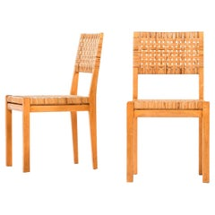 Aino Aalto Dining Chairs Model 615 Produced by Artek in Finland
