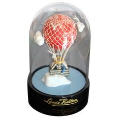 """Air Balloon"" Louis Vuitton Dome, Louis Vuitton Globe, Louis Vuitton Snow Globe"