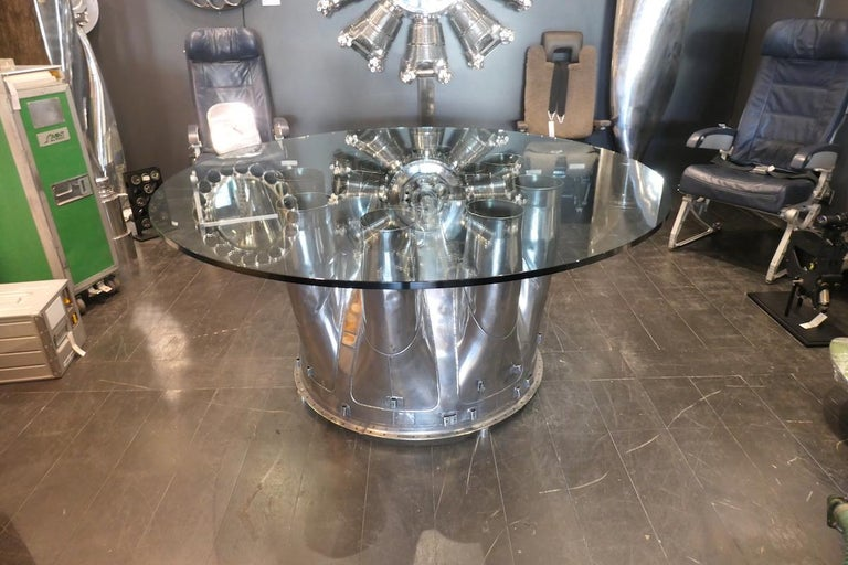 Aircraft Boeing 707 Noise Reduction Centre Table For Sale