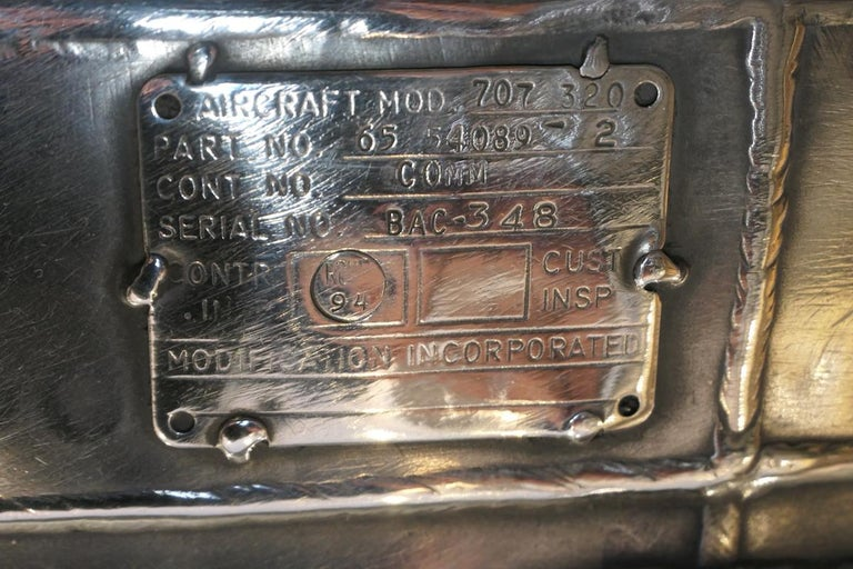 Aircraft Boeing 707 Noise Reduction Centre Table For Sale 2