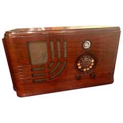 Airline 62-346 Art Deco Restored Tube Radio Bluetooth
