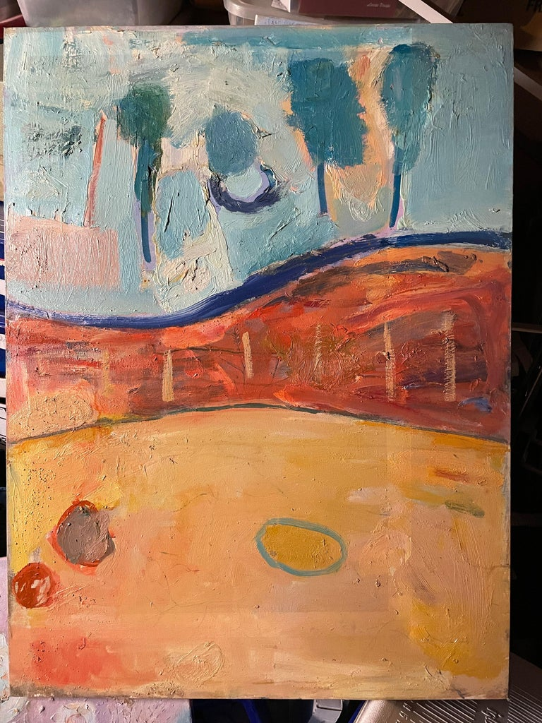 4 Days and 4 Nights - Abstract Expressionist Painting by Airom