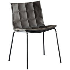 Airy 2016 Side and Dining Chair with Chrome Legs by Acerbis Design