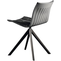 Airy 2016 Side and Dining Chair with Swivel Base by Acerbis Design