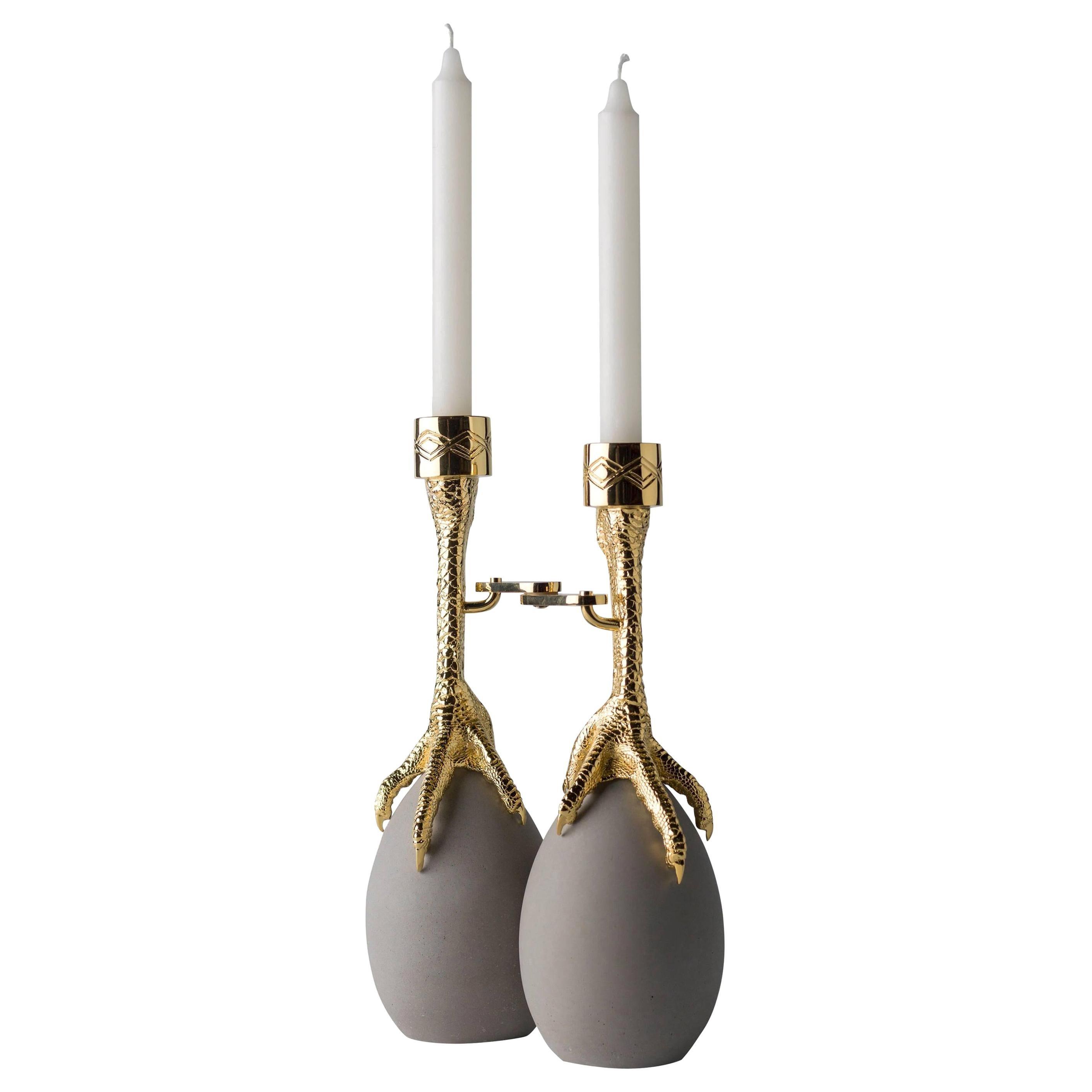 Aisha Al Sowaidi Walking Hen Candleholder Limited Edition