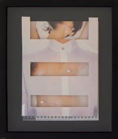 """Aisha Ascóniga, """"En el interior I"""", Figurative, Collage"""