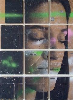 """Aisha Ascóniga, """"La búsqueda que lleva a la decepción"""", Figurative, Polyptych"""