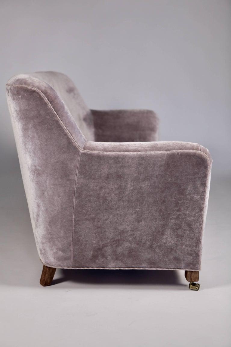A.J. Iversen Three-Seat Sofa Denmark, 1939 For Sale 2