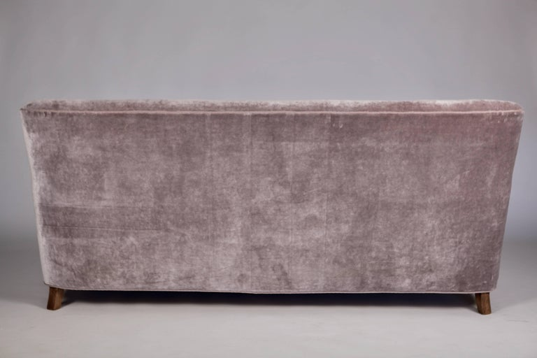 A.J. Iversen Three-Seat Sofa Denmark, 1939 For Sale 4