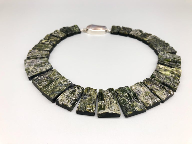 Mixed Cut A.Jeschel Black Tourmaline—The most powerful stone of all in a matched collar  For Sale
