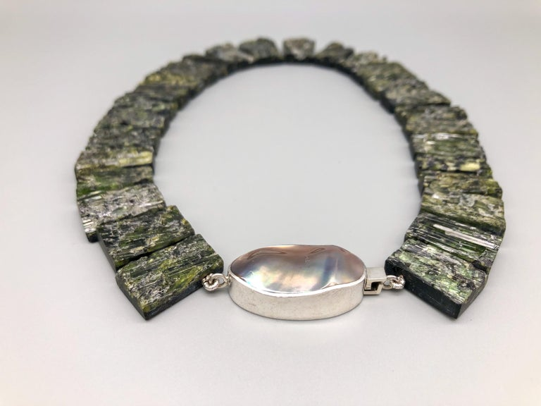 A.Jeschel Black Tourmaline—The most powerful stone of all in a matched collar  In New Condition For Sale In Miami, FL