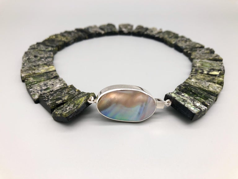 Women's A.Jeschel Black Tourmaline—The most powerful stone of all in a matched collar  For Sale