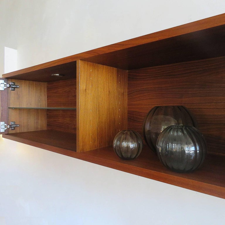 AK-1270 Nissen & Gehl Sideboard and Hanging Cabinet For Sale 2
