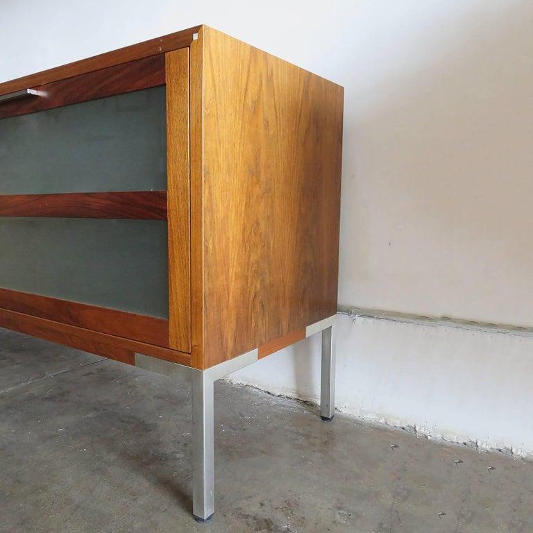 Danish AK-1270 Nissen & Gehl Sideboard and Hanging Cabinet For Sale