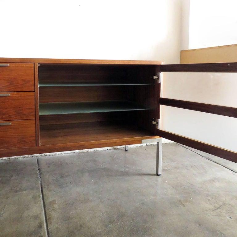 AK-1270 Nissen & Gehl Sideboard and Hanging Cabinet For Sale 1
