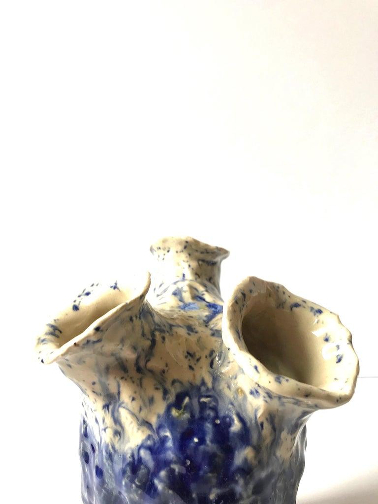 Abstract  Ceramic Vessel Sculpture: 'Creature Medium 12' For Sale 1