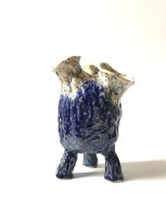 Abstract  Ceramic Vessel Sculpture: 'Creature Medium 12'