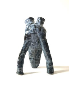 Abstract Ceramic Vessel Sculpture: 'Creature Medium No 11'
