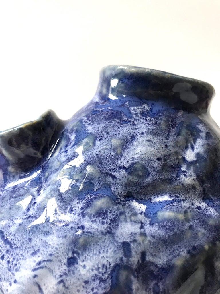 Abstract  Ceramic Vessel Sculpture: 'Creature Medium No 13' For Sale 3
