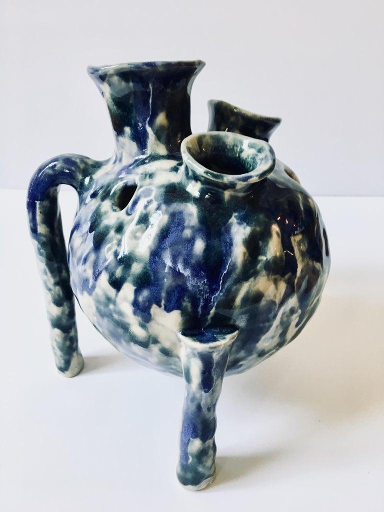 Sculpture ceramic vessel: 'Creature Medium 2' For Sale 1